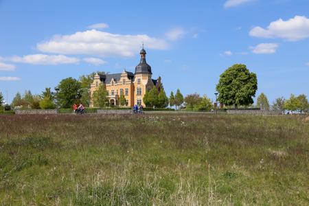 Villa am Bernsteinsee an der Goitzsche