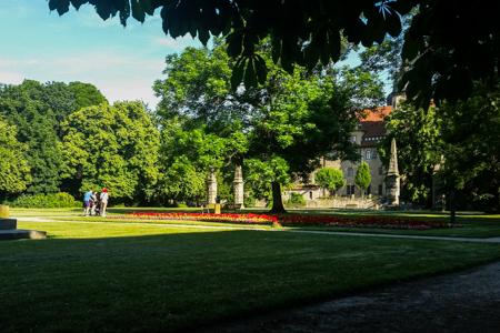 Merseburg Schlossgarten und Ständehaus